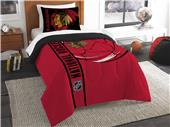 Northwest NHL Blackhawks Twin Comforter & Sham