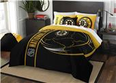 Northwest NHL Bruins Full Comforter & 2 Shams
