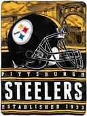 Northwest NFL Steelers 60x80 Silk Touch Throw