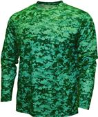 Baw Men/Youth Xtreme-Tek Digital Camo LS Shirt