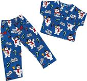 Tooniforms Kids Frosty the Snowman Scrub Set