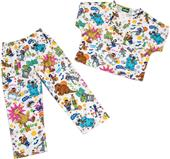 Tooniforms Kids Sesame Street Scrub Set