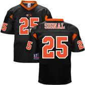 Battlefield MOS 25 Signal Army Football Jersey
