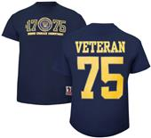 Battlefield Collection Navy Veteran Jersey Tee