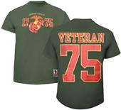 Battlefield Collection Marines Veteran Jersey Tee