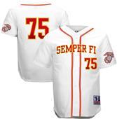 Battlefield Marines Semper Fi Baseball Jerseys