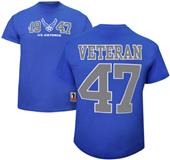 Battlefield Air Force Veteran Jersey Tee