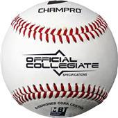 Champro Collegiate Spec Flat Seam Baseballs