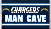 NFL San Diego Chargers 3' x 5' Flag w/4 Grommets