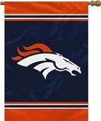 """NFL Denver Broncos 28"""" x 40"""" House Banner"""
