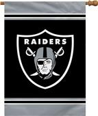 "NFL Oakland Raiders 28"" x 40"" House Banner"