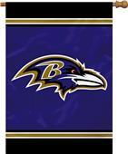 """NFL Baltimore Ravens 28"""" x 40"""" House Banner"""