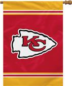 "NFL Kansas City Chiefs 28"" x 40"" House Banner"