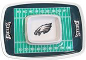 NFL Philadelphia Eagles Chip & Dip Tray