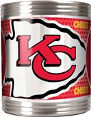 NFL Kansas City Chiefs Stainless Steel Can Holder