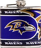NFL Baltimore Ravens Stainless Steel Flask