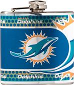 NFL Miami Dolphins Stainless Steel Flask