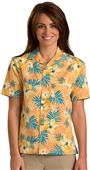 Edwards Unisex Tropical Hibiscus Camp Shirt