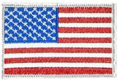 Cliff Kenn Football Officials USA Flag Patch