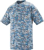 Augusta Sportswear Digi Camo 2-Button Jersey