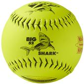 "Decker NSA Black Big Shark 12"" Slowpitch Softball"