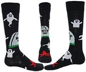 Red Lion Ghosts Over-The-Calf Socks - Closeout