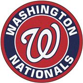 Fan Mats MLB Washington Nationals Roundel Mat
