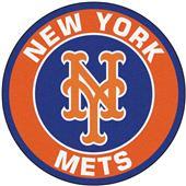 Fan Mats MLB New York Mets Roundel Mat