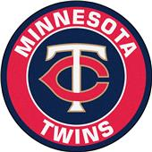 Fan Mats MLB Minnesota Twins Roundel Mat