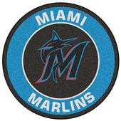 Fan Mats MLB Miami Marlins Roundel Mat