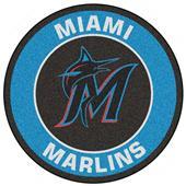 Fan Mats MLB Miami Marlins Roundel Mat