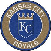 Fan Mats MLB Kansas City Royals Roundel Mat