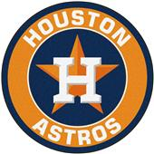 Fan Mats MLB Houston Astros Roundel Mat
