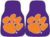 FanMats Clemson University Carpet Car Mats (set)