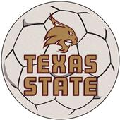 Fan Mats Texas State University Soccer Ball Mat
