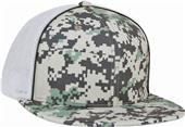 Pacific Headwear D-Series Digi Camo Trucker Caps