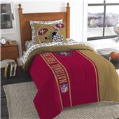 Northwest NFL 49ers Soft & Cozy Twin Comforter Set