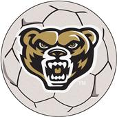Fan Mats Oakland University Soccer Ball Mat