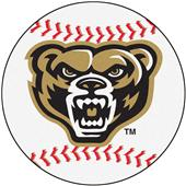 Fan Mats Oakland University Baseball Mat