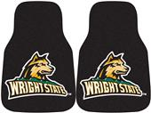 Fan Mats Wright State Univ. Carpet Car Mats (set)