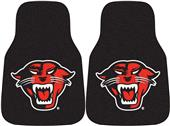 Fan Mats Davenport Univ Carpet Car Mats (set)