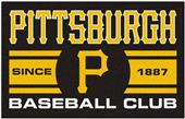 Fan Mats MLB Pittsburgh Pirates Starter Mat