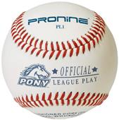 Pro Nine Youth Pony Play League Baseballs (DZ)