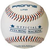 "Pro Nine 9"" Pitching Machine Flat Seam Baseballs"