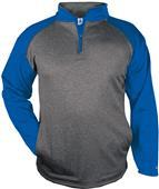 Badger Sport Adult Sport Heather 1/4 Zip Jackets