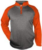 Badger Sport Adult Sport Heather 1/4 Zip Jackets