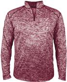 Badger Sport Adult Blend 1/4 Zip Pullover Shirt