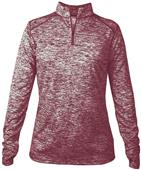 Badger Sport Ladies Blend 1/4 Zip Jackets