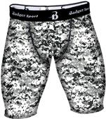 Badger Sport Adult Digital Compression Shorts