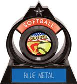 "Hasty Awards Eclipse 6"" Americana Softball Trophy"